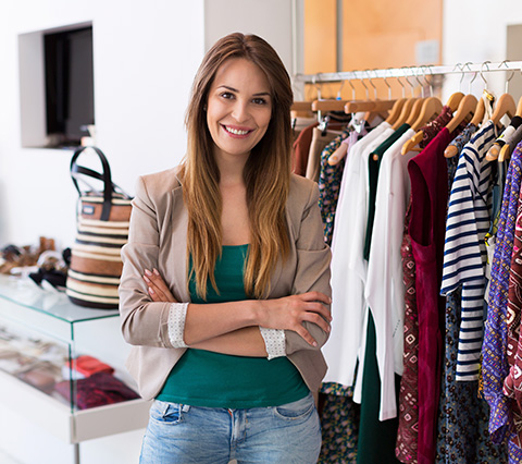Fashion company manager in Bogota